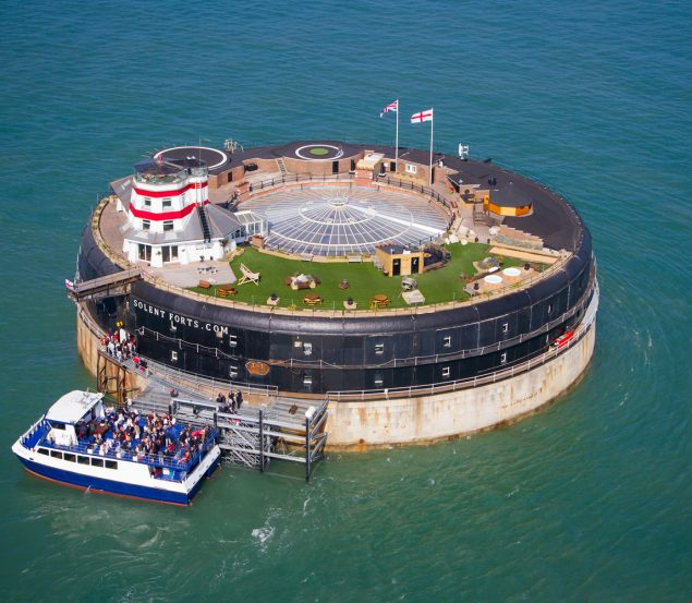 Solent Forts an amazing visit off the Hampshire coast