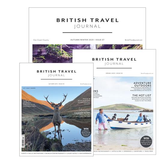 British Travel Journal Subscribe