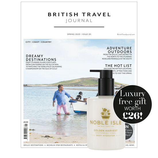 British. Travel Journal Subscribe
