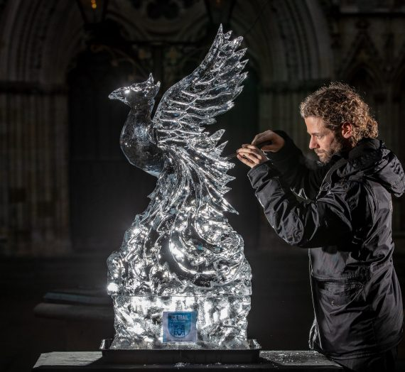 Biggest outdoor Ice Trail in UK celebrates myths and legends