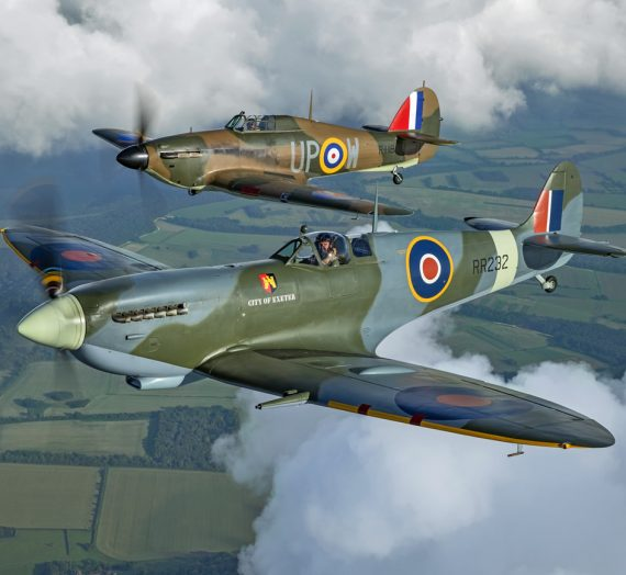 Flying with Spitfires