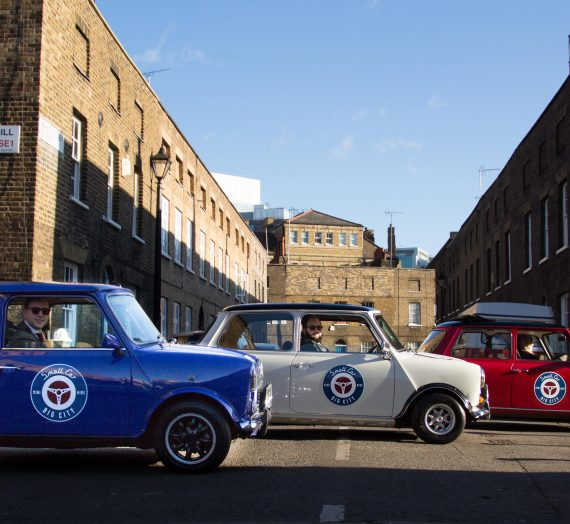 Mini Cooper Tour of London