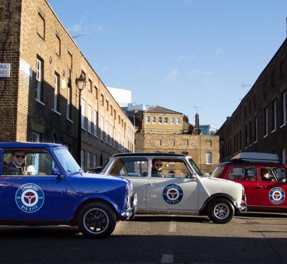 Mini Cooper Tour of London