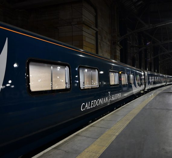 Caledonian Sleeper gives first look inside new trains on revamped website