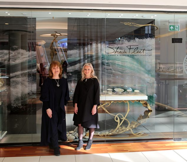 Stunning new Glasgow showcase for Orcadian jewellery designer