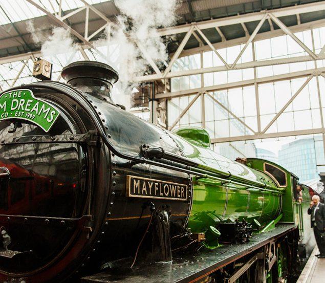 Windsor by luxury steam train