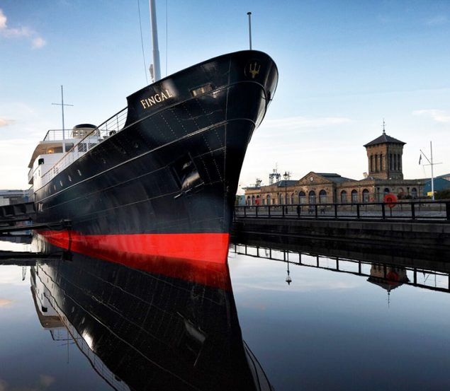 Win a night of luxury staying aboard Fingal in Edinburgh