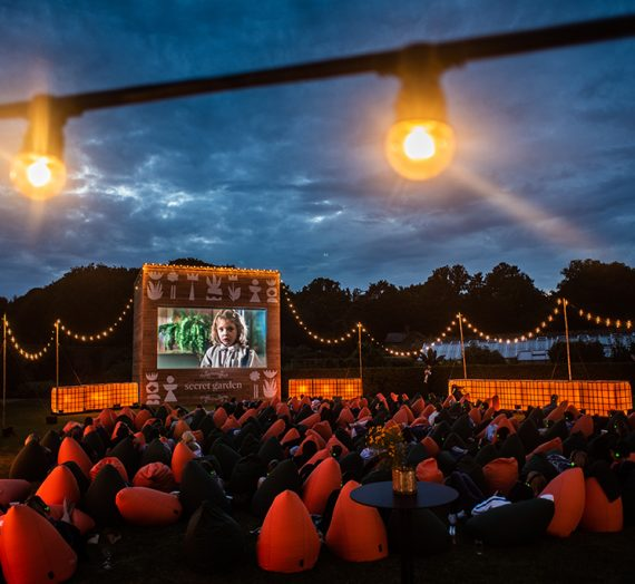 Experience pop-up cinema in the secret garden at The Grove