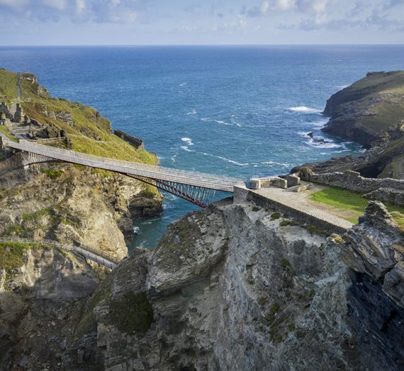 New footbridge restores lost Cornish crossing