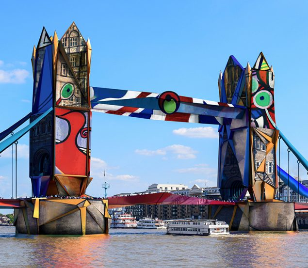 UK Landmarks Re-imagined