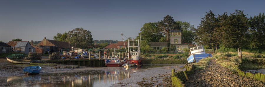 Brancaster Staithe  North Norfolk coast