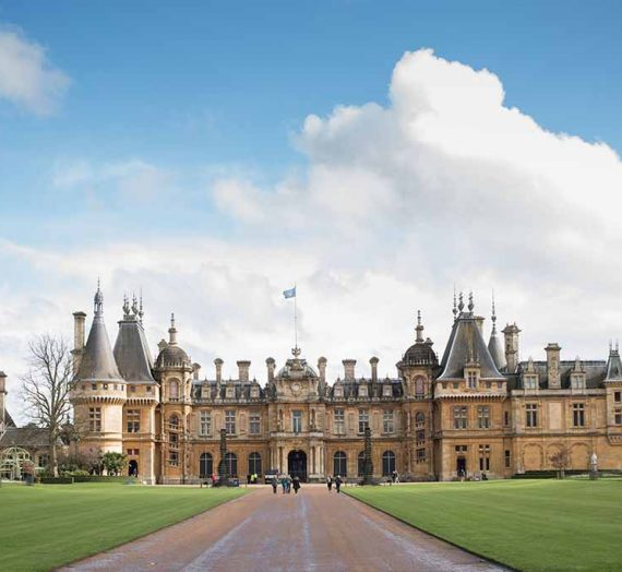 Wander through Waddesdon's gardens from your living room