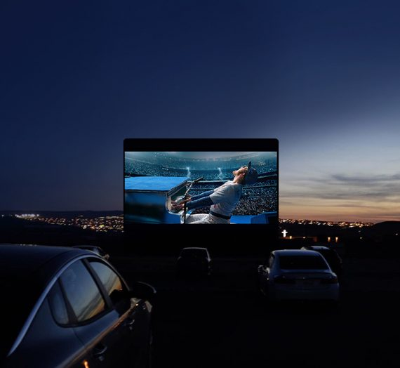 BUCKLE UP! The Luna Drive-In Cinema is launching in the UK!