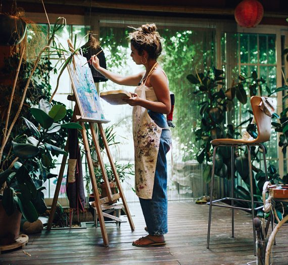 Get creative in 2021 try a painting holiday