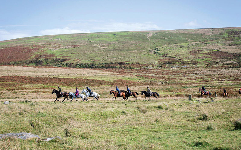 Discover Dartmoor on Horseback