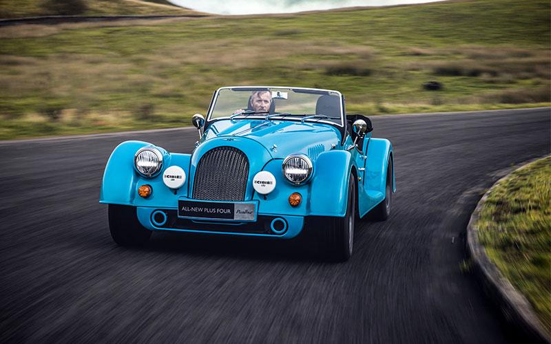 Classic Morgan car North Coast 500