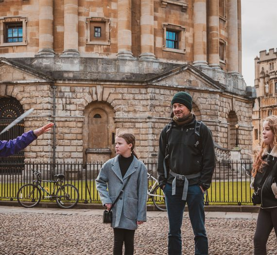 Oxford Official Walking Tours Launch New Website
