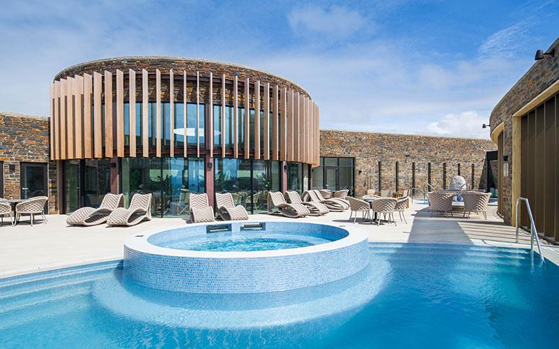 The Headland Hotel, Newquay, Cornwall