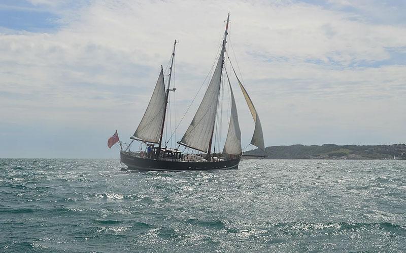 Moonfleet Sailing the Dorset coast