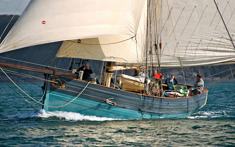 Working Sail - Agnes