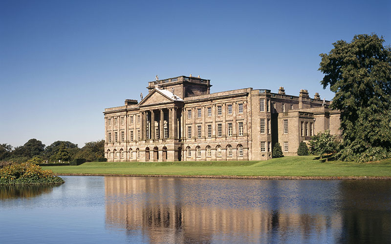 View of the South Front of Lyme Park, Cheshire