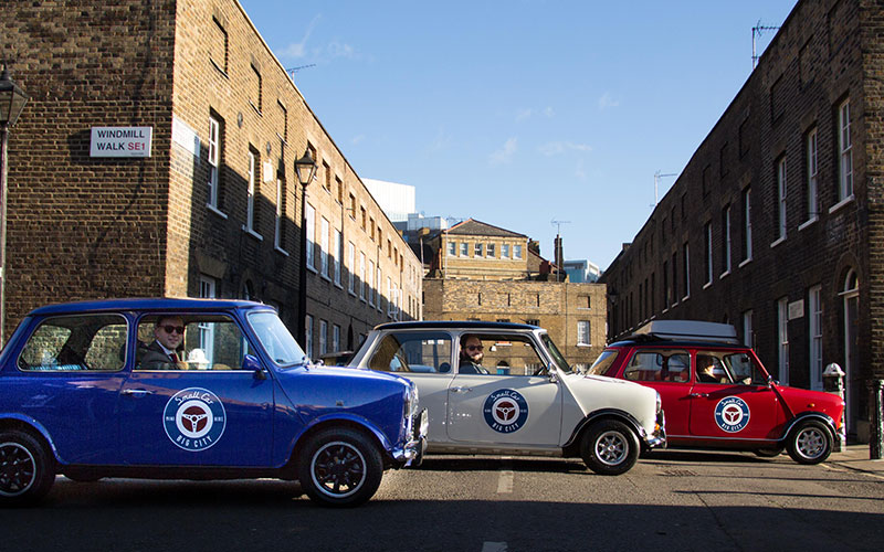 Mini Coopers London